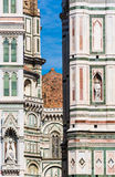 Detalle del Duomo de Florencia imagen de archivo