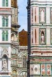 Detalle del Duomo de Florencia foto de archivo libre de regalías