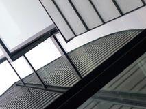 Detalle del edificio de oficinas imagenes de archivo