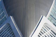 Detalle del edificio de príncipe Felipe en Valencia foto de archivo libre de regalías