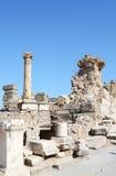 Detalle del edificio en Ephesus (Efes) Foto de archivo