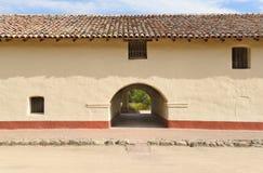 Detalle del edificio en la misión de Purisima del La Fotografía de archivo libre de regalías