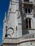 Detalle del edificio húngaro del parlamento en Budapest imagenes de archivo
