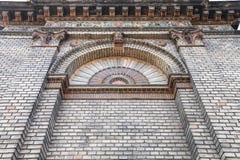 Detalle del edificio hermoso viejo en el parque de la ciudad de Budapest Fotos de archivo libres de regalías