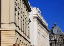 Detalle del edificio histórico Imágenes de archivo libres de regalías