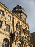Detalle del edificio viejo del congreso, Bogotá, Colombia. Foto de archivo libre de regalías