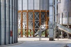 Detalle del elevador de grano Fotografía de archivo libre de regalías