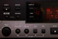 Detalle del equipo audio imágenes de archivo libres de regalías
