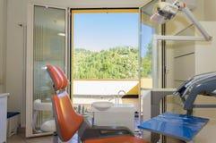 Detalle del equipo del dentista Fotos de archivo libres de regalías
