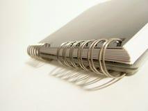Detalle del espiral del cuaderno Foto de archivo libre de regalías