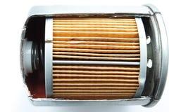 Detalle del filtro de combustible para el coche del motor Fotografía de archivo libre de regalías
