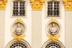 Detalle del fondo del palacio Foto de archivo libre de regalías