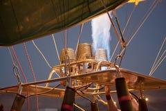 Detalle del globo del aire caliente Imagen de archivo libre de regalías