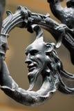 Detalle del hierro labrado Imagen de archivo libre de regalías