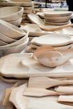 Detalle del hitckenware de madera Fotografía de archivo
