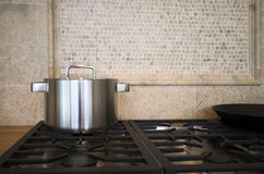 Detalle del interior de la cocina Fotografía de archivo