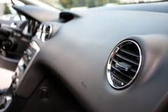 Detalle del interior del coche Foto de archivo libre de regalías