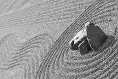 Detalle del jardín del zen Imagen de archivo