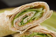 Detalle del kebab Fotografía de archivo