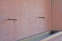 Detalle del lavabo Imagenes de archivo