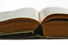 Detalle del libro de la vendimia Foto de archivo libre de regalías