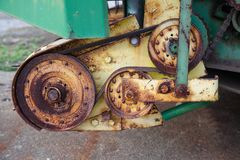 Detalle 0312 del material agrícola imagen de archivo libre de regalías