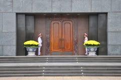 Detalle del mausoleo de Ho Chi Minh Tomb en Hanoi, Vietnam Imagenes de archivo