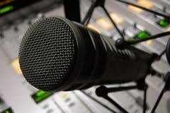 Detalle del micrófono fotos de archivo libres de regalías