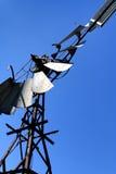 Detalle del molino de viento viejo Foto de archivo