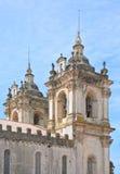 Detalle del monasterio de Alcobaca Fotos de archivo libres de regalías