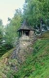 Detalle del monasterio de Prislop del condado de Hunedoara, Rumania Fotografía de archivo libre de regalías