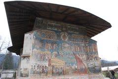 detalle del monasterio de Voronet fotos de archivo libres de regalías