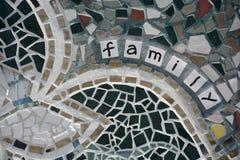 Detalle del mosaico Imagen de archivo