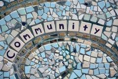 Detalle del mosaico Foto de archivo libre de regalías