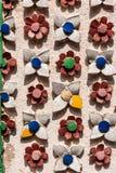 Detalle del mosaico de Wat Phra Kaew Imagenes de archivo
