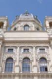 Detalle del museo Viena de la historia natural Imagenes de archivo