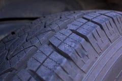 Detalle del neumático Foto de archivo libre de regalías