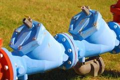 Detalle del oleoducto Fotografía de archivo libre de regalías