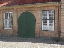 Detalle del palacio de Augustenborg imagenes de archivo