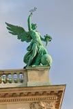 Detalle del palacio de Hofburg en Viena (Austria) foto de archivo libre de regalías