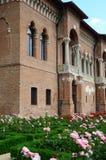 Detalle del palacio de Mogosoaia Foto de archivo libre de regalías
