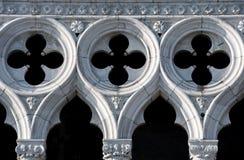 Detalle del palacio del dux. Fotografía de archivo