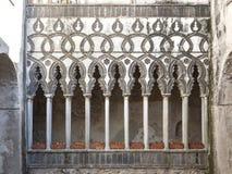 Detalle del palacio histórico Foto de archivo