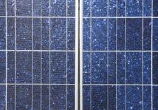 Detalle del panel solar Fotografía de archivo
