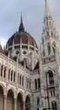Detalle del parlamento Budapest Fotos de archivo libres de regalías