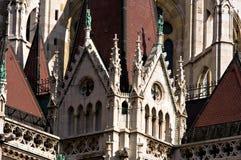 Detalle del parlamento húngaro Foto de archivo libre de regalías