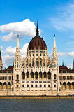 Detalle del parlamento húngaro en Budapest Imagenes de archivo