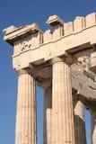 Detalle del Parthenon fotografía de archivo libre de regalías