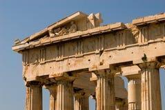 Detalle del Parthenon Foto de archivo libre de regalías