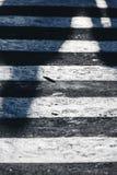 Detalle del paso de peatones, calle Foto de archivo